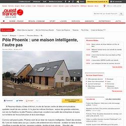 Pôle Phoenix: une maison intelligente, l'autre pas - Pleumeur-Bodou - Aménagement du