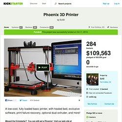 Phoenix 3D Printer by Ez3D