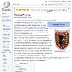 Phoenix Program - Wikipedia