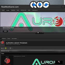 Aurora 0.5b by Phoenix - Aurora releases - RealModScene