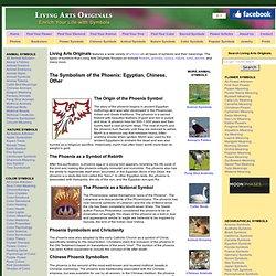 Phoenix Symbolism & Phoenix Symbol Meaning History