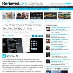 How Your Phone Camera Can Be Used to Spy on You
