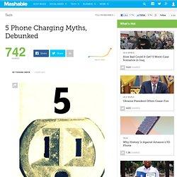 5 Phone Charging Myths, Debunked