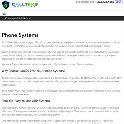 Phone Systems - Callteks