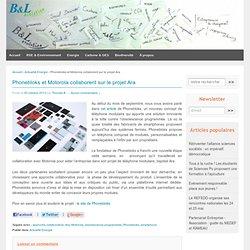 Phonebloks et Motorola collaborent sur le projet Ara