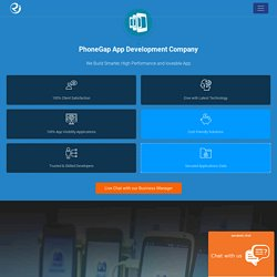 PhoneGap App Development Company India