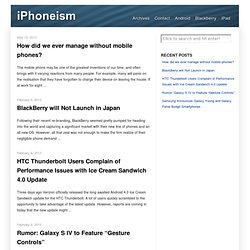 iPhoneism — For the ultimate unlock and jailbreak news plus updates on iPhone, iPod Touch and iPad