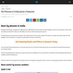 5G Phones in India price