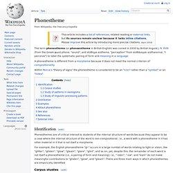 Phonestheme