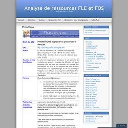 Analyse de ressources FLE et FOS