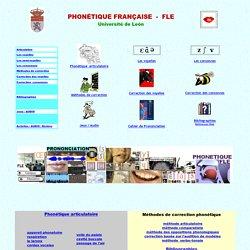 phonétique FLE, phonétique française, cours de prononciation