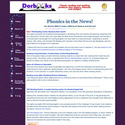 Phonics Articles and News