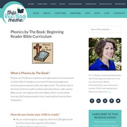 Phonics by The Book: Beginning Reader Bible Curriculum - This Reading Mama