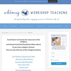 Phonics - Whimsy Workshop Teaching