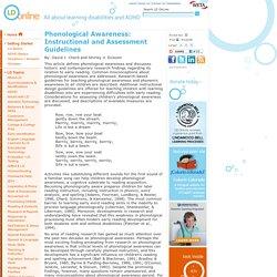 instructional strategies for teaching phonics