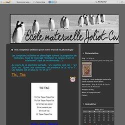 Nos comptines utilisées pour notre travail en phonologie - Le blog de pontarlier.joliotcurie2.psms.over-blog.com