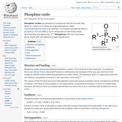 Phosphine oxide