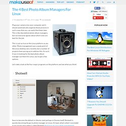 The 4 Best Photo Album Managers For Linux