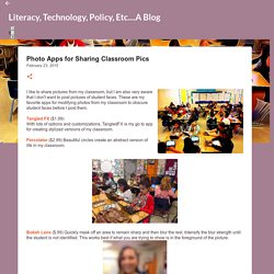 Photo Apps for Sharing Classroom Pics