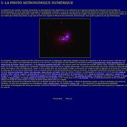 Photo astro numérique