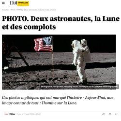 PHOTO. Deux astronautes, la Lune et des complots - 18 août 2015