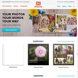 Create and Order Personalized Printed Photo Books at Mixbook