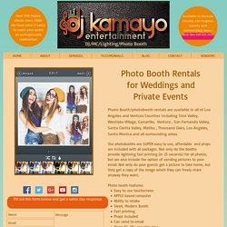 Photo Booth Simi Valley - Los Angeles Photo Booth