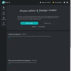 Photo Editor : Pixlr E - free image editing tool