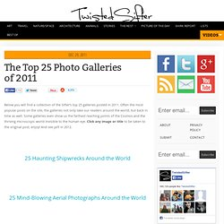 The Top 25 Photo Galleries of 2011