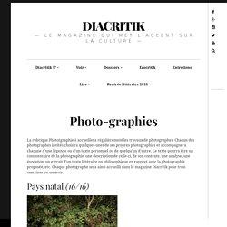 Photo-graphies