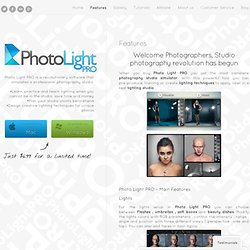Photo Light Pro – Features