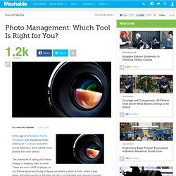 Photo Management: Which Tool Is Right for You?