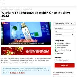 The photo stick is een usb stick voor opslag digitale files