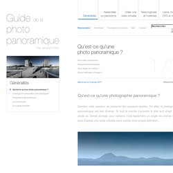 Qu'est-ce qu'une photo panoramique ? - Guide de la photo panoramique