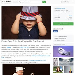 Free photo Photos Eyes Child Baby Playing Hat Boy Covered - Max Pixel