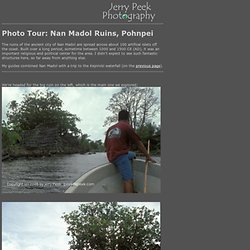 Photo Tour: Nan Madol Ruins, Pohnpei - Jerry Peek Photography