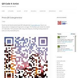 Photo QR Code generator