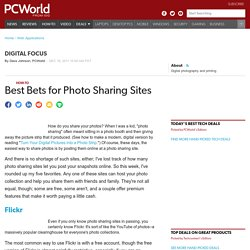 Best Bets for Photo Sharing Sites