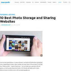 10 Best Photo Storage and Sharing Websites