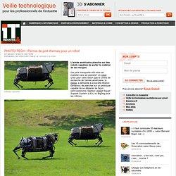 PHOTO-TECH : Permis de port d'armes pour un robot