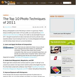 The Top 10 Photo Techniques of 2011