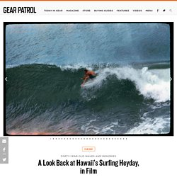 Photo Essay: Vintage Hawaii Surfing