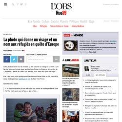 La photo qui donne un visage et un nom aux réfugiés en quête d'Europe