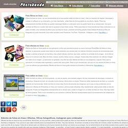 Efectos, filtros fotográficos, Instagram para ordenador