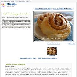 """Chelsea Buns.... - <img src="""" - Fotopages.com"""