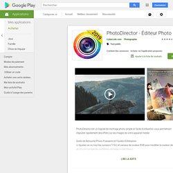 PhotoDirector-Editor de fotos
