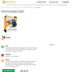 PhotoDirector Test 2017