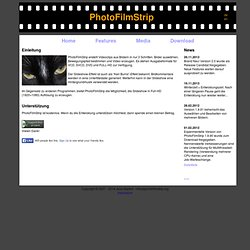 PhotoFilmStrip : Slideshows in Full-HD