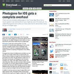 Photogene for iOS gets a complete overhaul