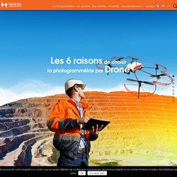 Photogrammétrie drone, relevé et cartographie l Hélicéo